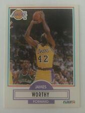 James Worthy 1990-1991 Fleer NBA LA Lakers 97   Los Angeles