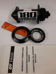 DT Swiss 180 Carbon Ceramic Front QR  32 Hole Centre Lock Disc 100mm Black