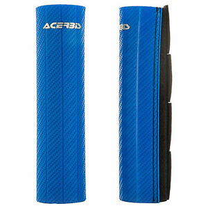Acerbis Upper Fork Guards Blue for Suzuki On-Off Road Motorcycles
