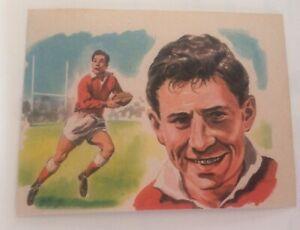 1965 Bancroft Tiddlers #4 Cliff Morgan(Kings Sport II)[Bobby Locke Back Covered]