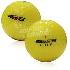 12 Bridgestone e6 Yellow Near Mint AAAA Used Golf Balls - FREE Shipping