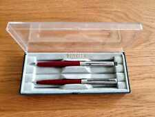 Parker 15 Ballpoint & Fountain set in Burgundy and Chrome - New