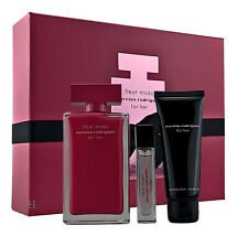 Narciso Rodriguez for Her Fleur Musc 100ml Edp &10ml Edp & 75ml Bodylotion110ml