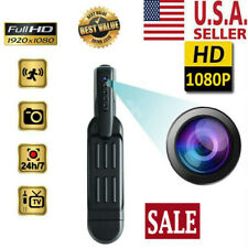 Mini Portable Pocket Pen Wireless Camera Hidden Video Recorder 1080P HD Body DVR