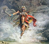 Frank McCarthy WHIRLING HE RACED TO MEET THE CHALLENGE S/N 602/1000 Mint w/coa