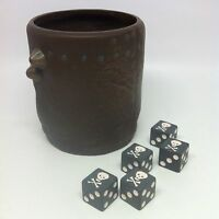 Pirates of the Caribbean 5 Skull PIRATE DICE 1 Cup Yahtzee Game Replacement 2006