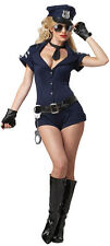 Aimerfeel-sexy police woman's outfit with with hat and handcuffs, size 14-16