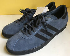 Adidas Originals Tobacco Blue & Black Suede Leather Mens Size 11 NWOB Free Ship