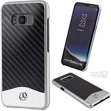 MERCEDES Samsung Galaxy S8, S8 Plus carbone alu