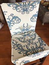 Tikami 4Pcs Spandex Printed Fit Stretch Dinning Room Chair Slipcovers 4, Green