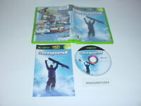 AMPED FREESTYLE SNOWBOARDING game complete in case w/ manual for MICROSOFT XBOX