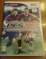 Pro Evolution Soccer 2010 (Wii) - Game  Complete with manual - TESTED
