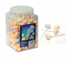 903537 1.6kg TUB OF SWEETWORLD RETRO SHERBERT LOLLY LOLLIPOPS APPROX 200 PIECES