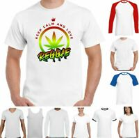 Hippy T-Shirt Chilled Out Smoking A Spliff Mens Funny Peace Love Weed