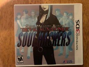 Shin Megami Tensei: Devil Summoner - Soul Hackers (Nintendo 3DS, 2012)