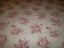 Simply Shabby Chic King Duvet Cover Sham Pair Blush Beauty Bouquet Pink Rose