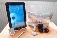 Samsung Galaxy TAB 2 P3100 l 7 Zoll Silber Edition XXL SET l SEHR GUT l WLAN SIM