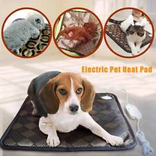 Large Pet Heat Pad Puppy Electric Heated Warm Blanket Dog Cat Whelping Bed Mat