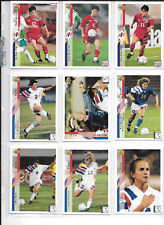 MICHELLE AKERS-STAHL 1994 UPPER DECK WORLD CUP SOCCER ENGLISH/SPANISH
