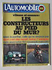 L AUTOMOBILE - SPORT MECANIQUE - MENSUEL N° 333 - FEVRIER 1974 *