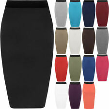Viscose Machine Washable Solid Skirts for Women