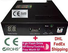 Floppy Drive to USB Converter Sodick Wire Cut EDM  + 8gb Flash (720 kb DD Model)
