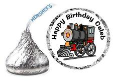 216 TRAINS BIRTHDAY PARTY FAVORS HERSHEY KISS KISSES LABELS
