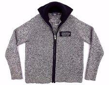 G-STAR RAW Mens Zip Cardigan Knit Sweater Jumper size M Gray GUC