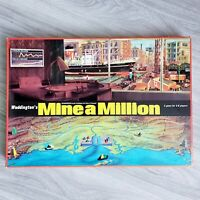 Mine A Million Business Board Game Waddingtons 1965. 100% COMPLETE RARE