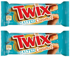 2x Twix Salted Caramel Xtra New Chocolate Bar 30.08.20