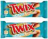 2x Twix Salted Caramel Xtra New Chocolate Bar