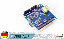 USB Host Shield Adapter Entwicklunsboard für Arduino Uno Duemilanove Mega 2560