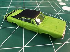 Green Dodge Charger American Line T-Jet Repop Body HO From MidAmerica Raceway
