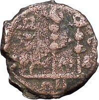 GORDIAN III 238AD Nicaea Bythinia Ancient Roman Coin EAGLE STANDARDS  i49388