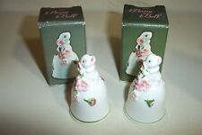 2 Vtg Avon Bunny Bells New Old Stock in Box