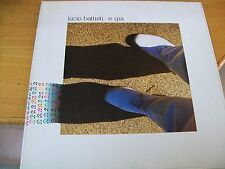 LUCIO BATTISTI E GIà  LP GATEFOLD MINT--- HALFSPEED MASTERING