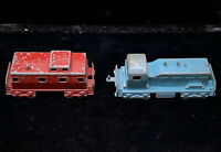 Vintage Midgetoy 1940's 50's Freight Train And Rare Caboose PAT. 2775847 W/ Pin