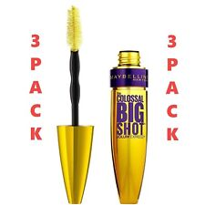 Maybelline The Colossal Big Shot Mascara Volume Express Very Black #224, 3PK