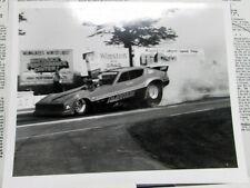1980s Ambition Nitro Funny Car Vintage Drag Race Promo AA/FC NHRA Sponsorship