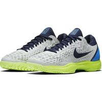 Nike Air Zoom Cage 3 Court Tennis Shoes Vast Grey Volt 918193-004 MENS SIZE 10.5