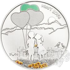 PAINT YOUR COIN First Love Silver Coin 5$ Cook Islands 2014