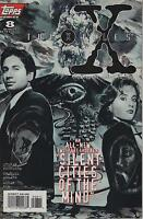 THE X-FILES #8 TV SERIES SHOW TOPPS COMIC BOOK FOX MULDER DANA SCULLY