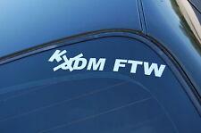 KDM FTW Sticker Decal Vinyl JDM Euro Drift Lowered illest Fatlace