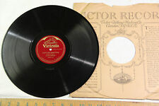 """78 1920s Clarence Whitehill """"Love's Old Sweet Song"""" """"Bohemian Girl"""" RIALTO E"""