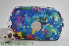 New With Tag KIPLING WALAN M POUCH / COSMETIC CASE - SUMMERMDOW