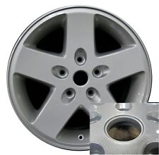 "17"" Jeep Wrangler 07 08 09 10 11 12 13 14 15 Factory OEM Rim Wheel 9074 Silver"