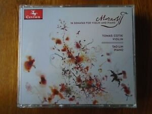 Tomas Cotik Tao Lin - Mozart 16 Sonatas for Violin and Piano  (complete)