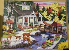 PUZZLE JIGSAW by Nancy Wernersbach A Place in The Woods, 300 pcs