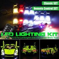 LED Light Kit ONLY For LEGO 42115 For Lamborghini Sian FKP 37 Car Brick Toys