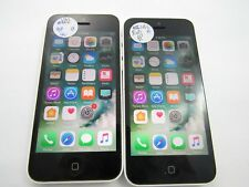 Lot of 2 Apple iPhone 5C 8GB A1532 Unlocked Check IMEI Good Condition 6-441